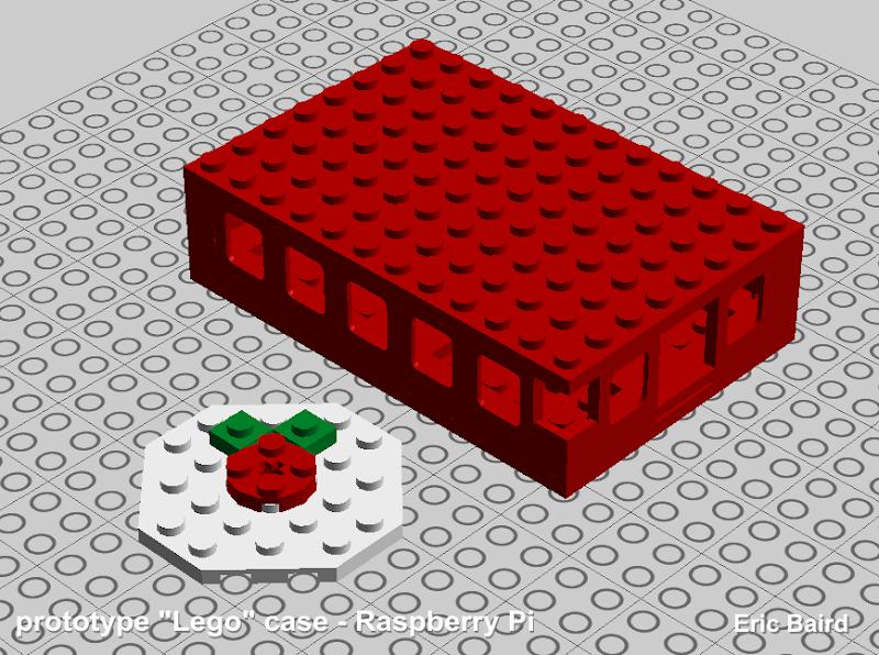 Lego R-Pi case (test)
