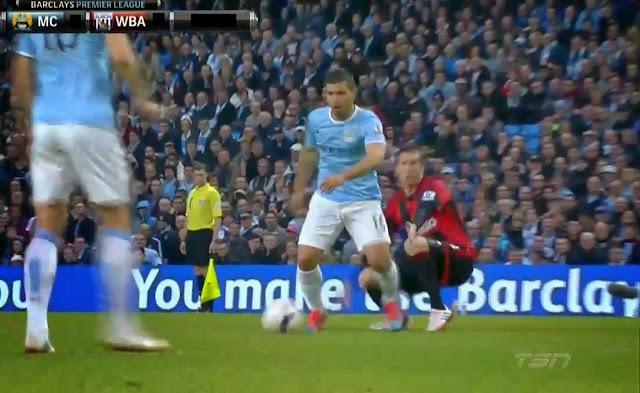 Aguero, Manchester City - WBA