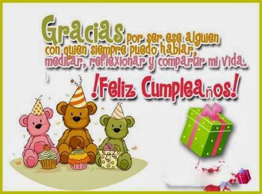 Tarjetas bonitas de cumpleaños para facebook