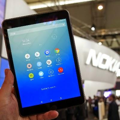 """Penampakan Nokia N1, """"iPad Mini"""" Dengan OS Android"""