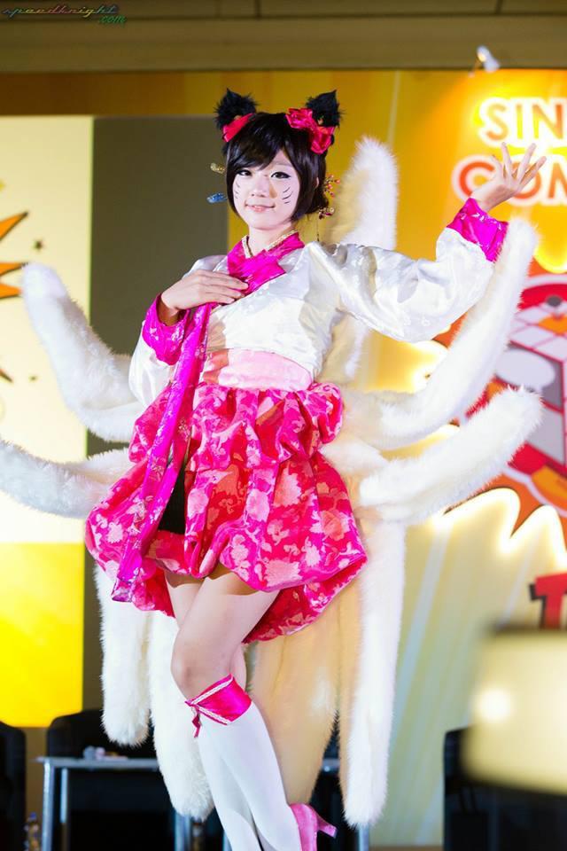 Miyuko khoe cosplay Ahri tại STGCC 2013 - Ảnh 13
