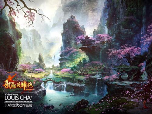 """Xạ Điêu Anh Hùng Truyện """"khoe"""" phong cảnh trong game 3"""