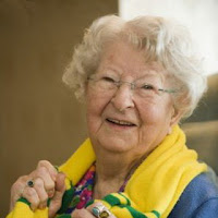 Mrs Dyliss Wynn-Jones - 2009. At 100 years of age.