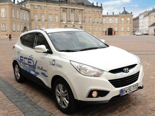 Hyundai ix 35 FuelCell - samochód zasilany wodorem