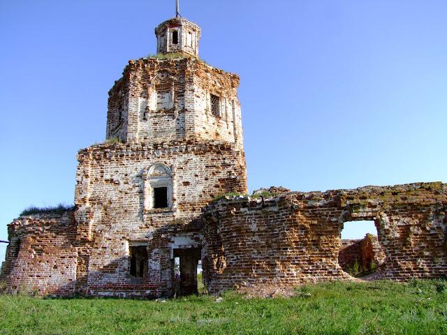 Николаевская церковь, с. Осиновка 1714 г
