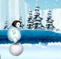 العاب ذكاء روان , لعبة البطريق وكرات الثلج