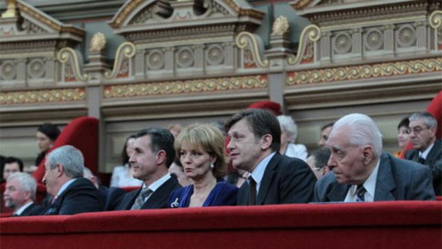 Crin Antonescu, principele Radu şi Principesa moştenitoare Margareta a României
