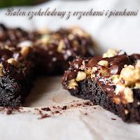 baton czekoladowy z piankami