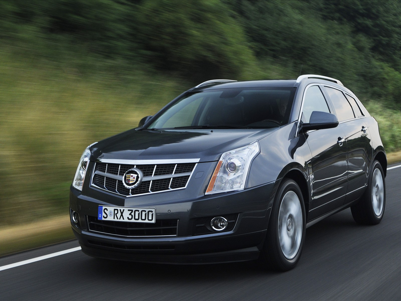 Car Pictures Cadillac Srx 2011