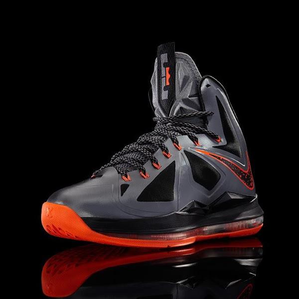 Release Reminder Nike LeBron X 8220Lava8221 Diamond