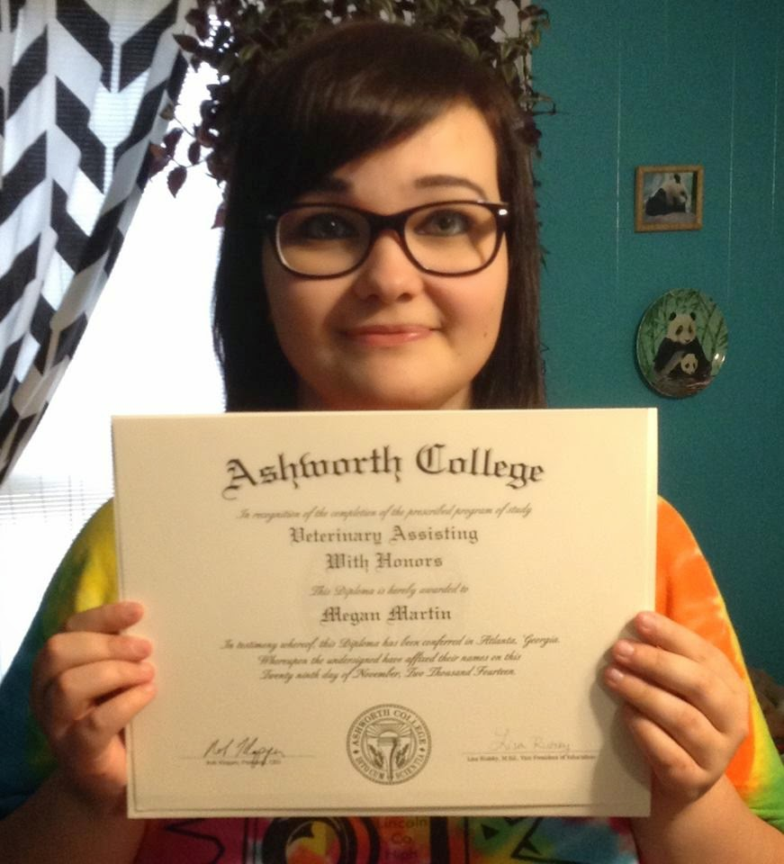 Join Us In Congratulating Megan For Graduating From Our Online