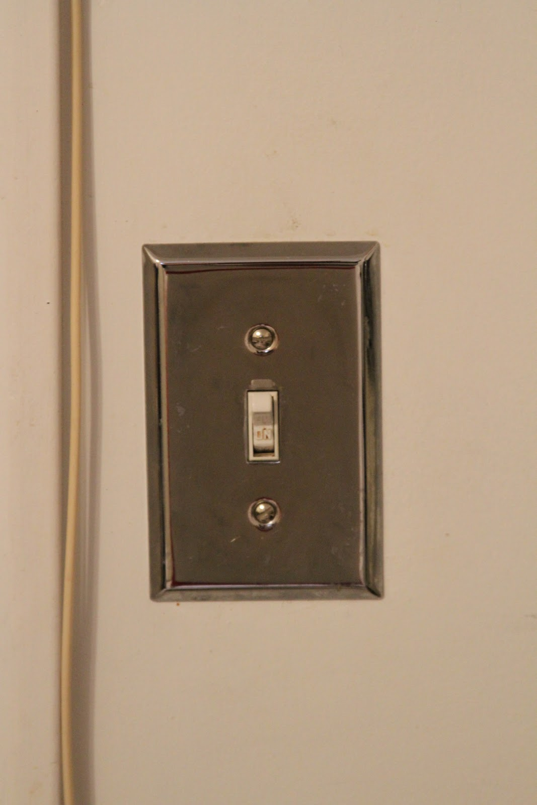 Simple fixes switch plates the bean house for Housse switch
