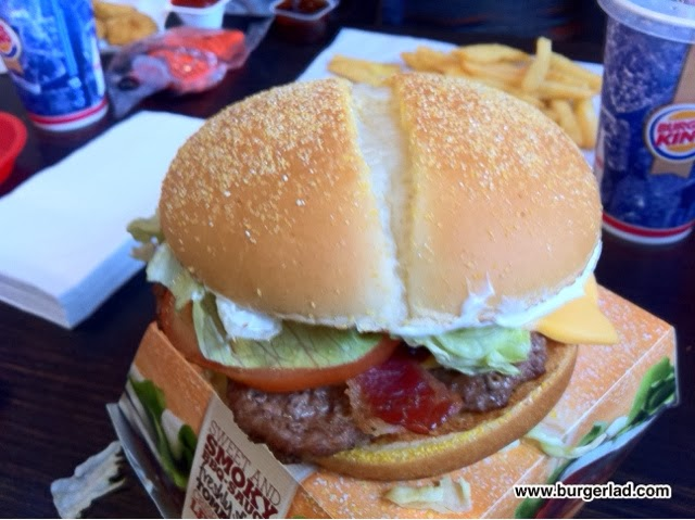 Burger King Texas BBQ Angus