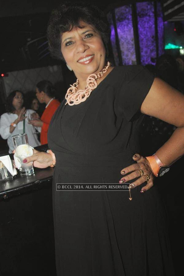 Bharti Taneja during the party, held at BW club, New Friends Colony.<br />