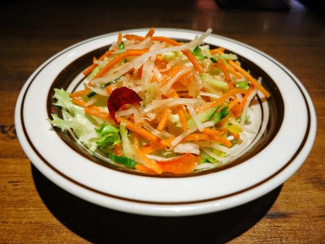 シャキシャキ野菜サラダ