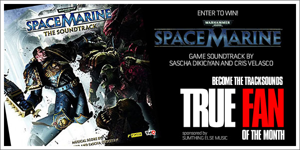 Win the WARHAMMER 40,000: SPACE MARINE Soundtrack!