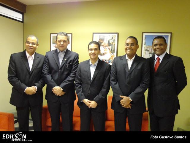 Vilalba, Sidelvan, Marcos Pereira, Edilson Ferreira e Ossésio Silva