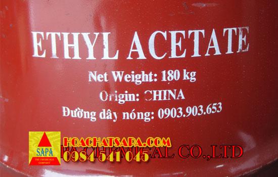 Hóa Chất SAPA   Dung môi Ethyl Acetate EA
