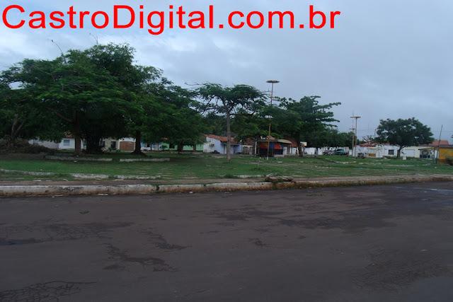 Praça Santos Dumont, popular Praça do Bom Pastor