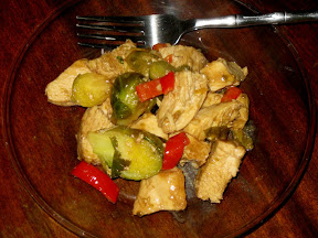 Chicken and Brussels Sprouts