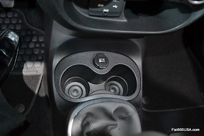 Fiat 500L center console