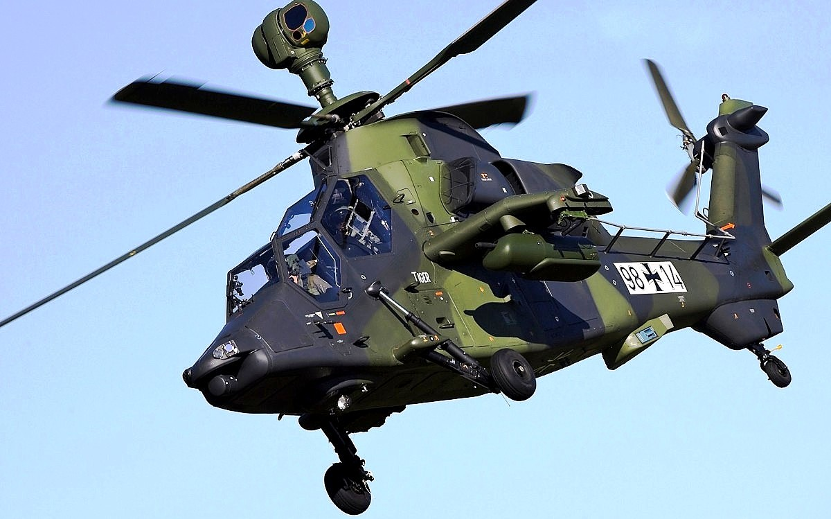 Eurocopter Tiger EC 665 Helicopter Wallpaper 1