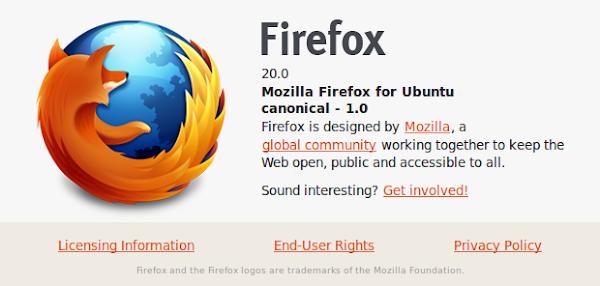 Firefox за Ubuntu 10.04