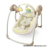 1 Bright Starts #: 6909 InGenuity™ Portable Swing in in Bella Vista Fashion