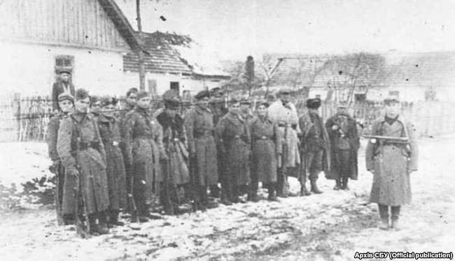 Национальный узбекский отдел при УПА-Север, 1943 год