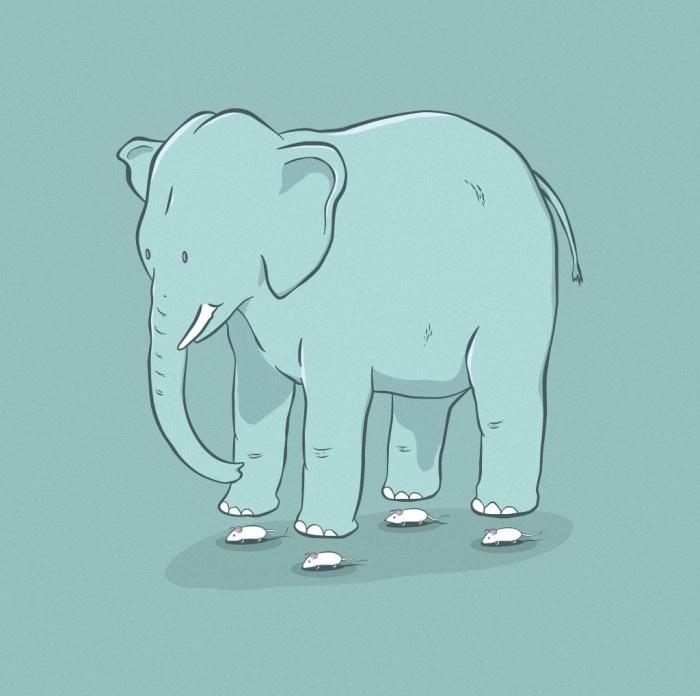 Levitating Elephant