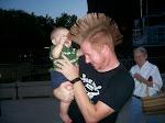 Baby Mohawk Touching #1