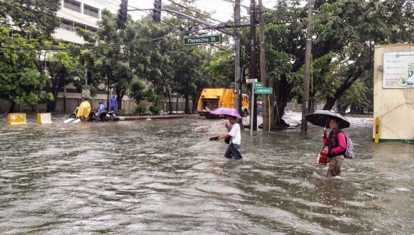Mario Causes Flooding in Metro Manila with Pictures 19-09-2014-01