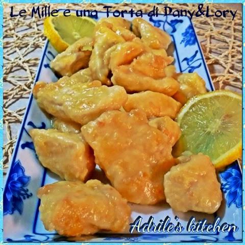 pollo al limone alla cinese