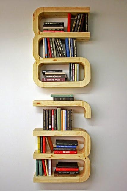 nowoczesne i efektowne  półki na książki