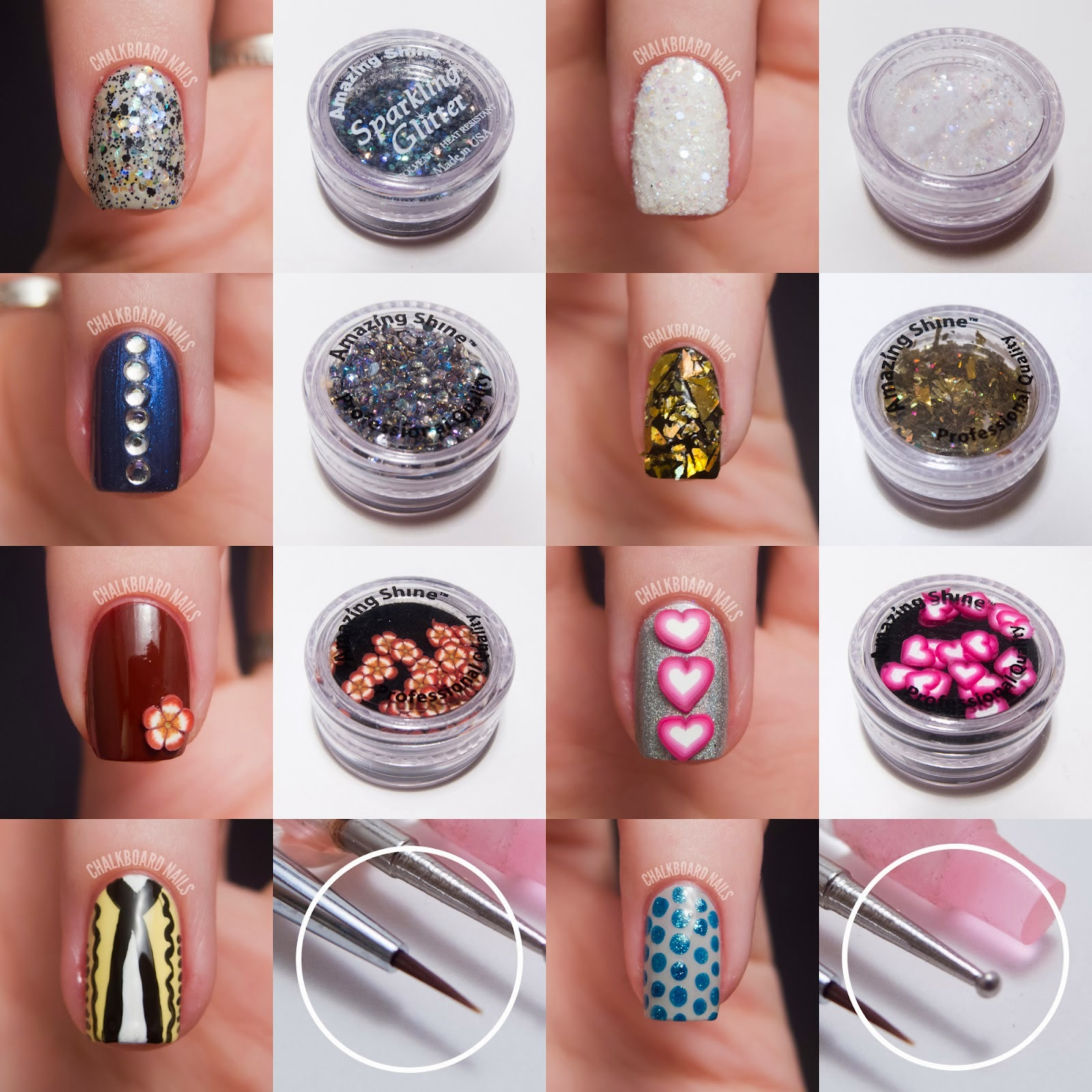 Nail Art Design Kit Step