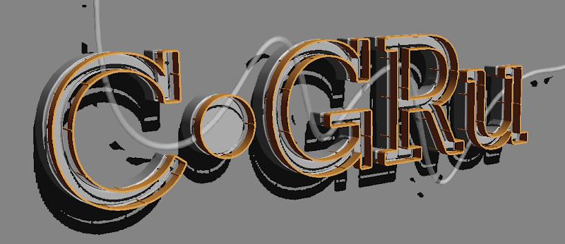 Photoshop - เทคนิคการสร้างตัวอักษร 3D Glowing แบบเนียนๆ ด้วย Photoshop 3dglow36