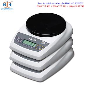 cân điện tử cas sh 200g 2-5kg cân đơn giản
