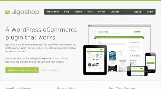 WordPress eCommerce JigoShop