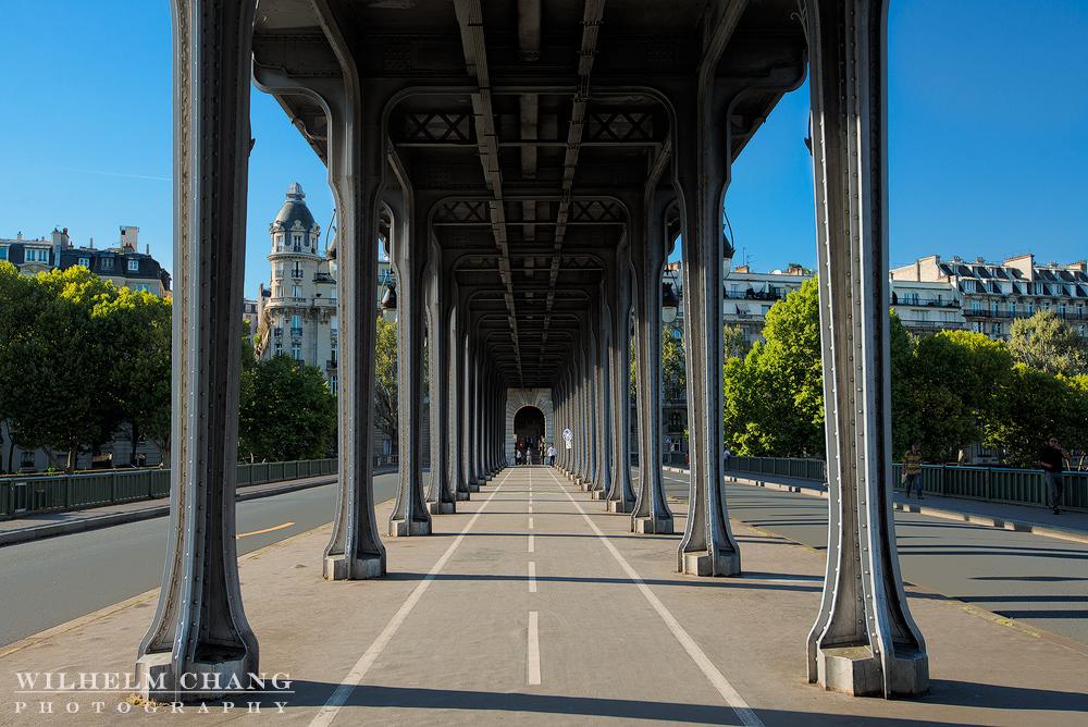 到巴黎攝影 比爾哈克姆橋 Pont de Bir-Hakeim