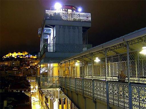 Подъёмник Санта Жушта Лиссабон фото