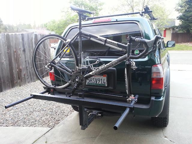 Homemade Bike Rack For Trailer Hitch - Homemade Ftempo