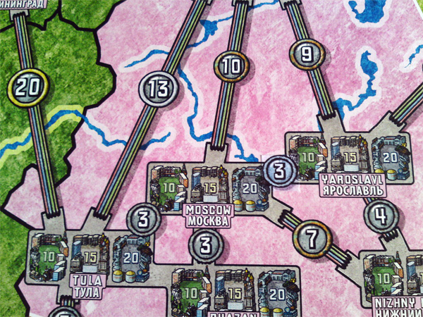 Power Grid: Russia and Japan