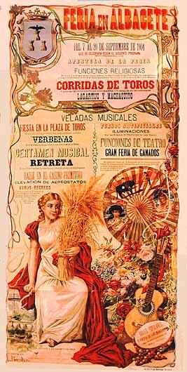 Cartel Feria Albacete 1904