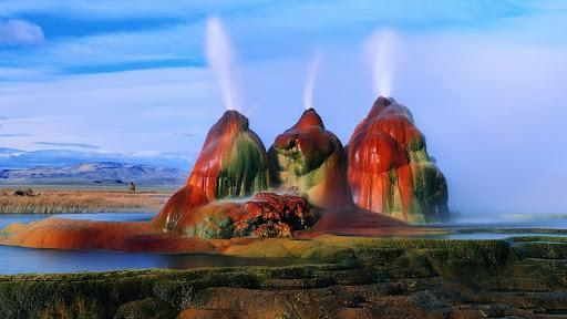 Colorful Fly Geyser, Black Rock Desert, Nevada.jpg