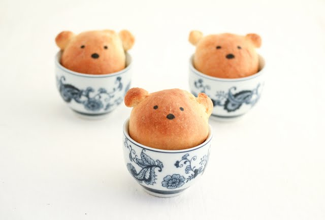 photo of three Bears in Tea Cups