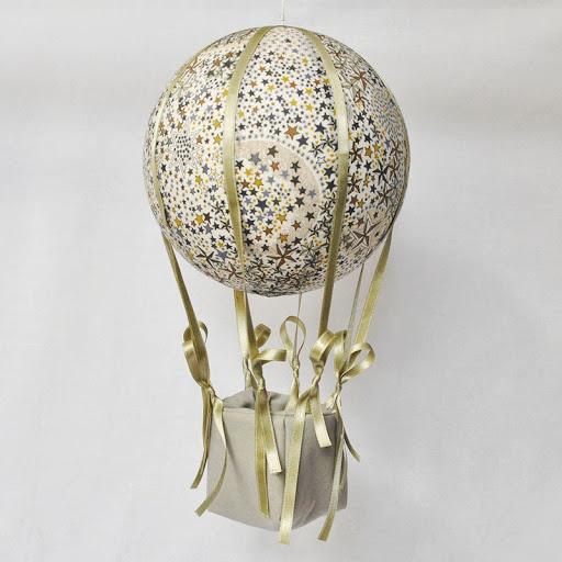 montgolfière liberty adelajda kaki nacelle vert d'eau