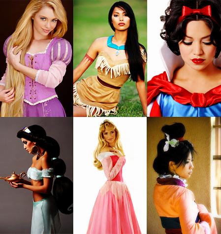 Maquiagem inspirada nas personagens da Disney