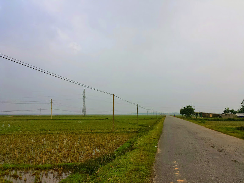 Platteland rond Dong Hoi
