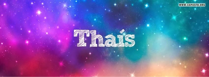 Capas para Facebook Thaís