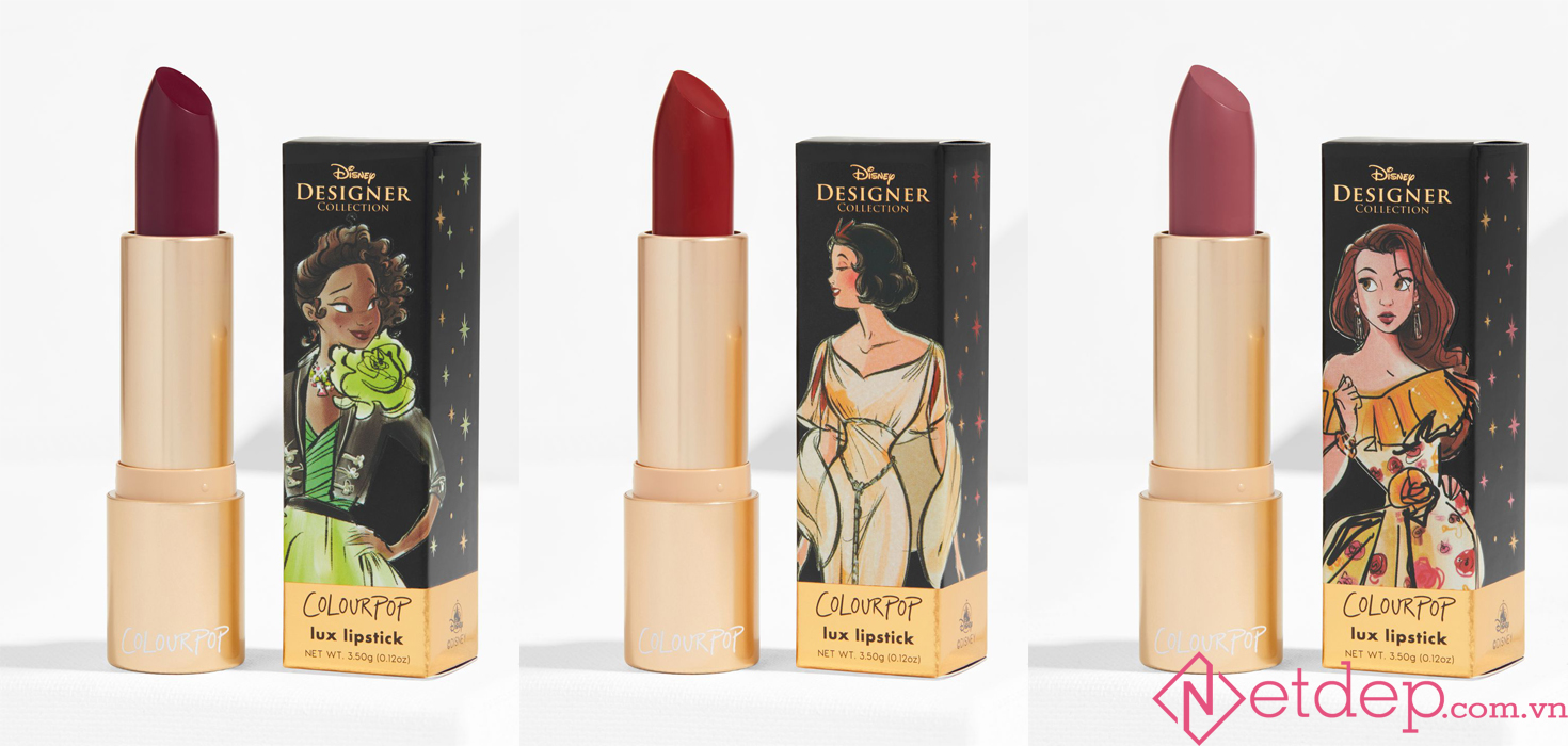 Colourpop x Disney Princesses Lux Lipstick
